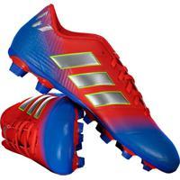 28703c6f50029 Chuteira Adidas Nemeziz Messi 18.4 Fxg Campo Vermelha