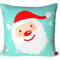 490cfc33a Capa De Almofada Love Decor Avulsa Decorativa Papai Noel