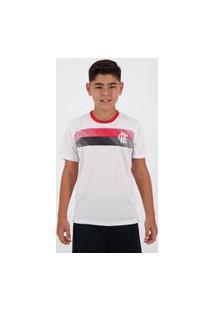 Camisa Flamengo Talent Infantil Branca