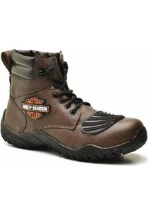 Bota Top Franca Shoes Adventure - Masculino-Café