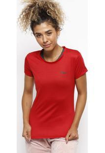 Camiseta Running Filaâ® - Vermelha & Pretafila