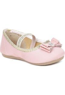 Sapato Para Bebê Menina Frozen - Rosa - Feminino-Rosa