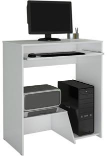 Escrivaninha/Mesa Para Computador Iris Jcm Movelaria Branco