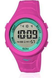 Relógio Everlast Digital Unissex Cx E Pulseira Silicone - Unissex