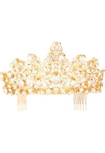 Dolce & Gabbana Tiara Com Cristais - Dourado