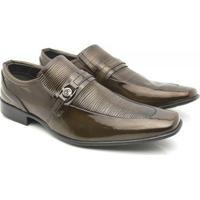 60f068a6f75 Sapato Social Venetto Classic Elegant - Masculino-Marrom-Claro