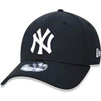 9558886fe57e6 Amazon. Bone 3930 New York Yankees Mlb Aba Curva Preto New Era