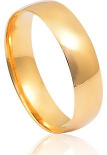 Aliança De Casamento Em Ouro 18K 3,8Mm