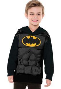 Casaco Interativo Batman Preto