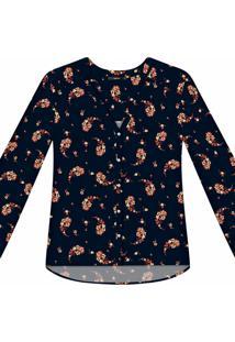 Camisa Manga Longa Estampa Tecido Primrose - Lez A Lez