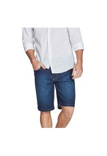 Bermuda Riccieri Slim Média Jeans