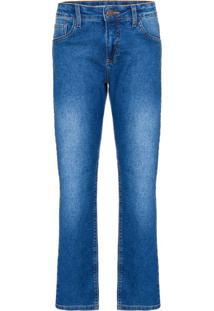 Calça Jeans Five Pockets Skinny - Azul Médio - 8