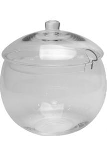 Bomboniere Bianco E Nero 27X25Cm Transparente - Branco - Dafiti
