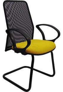 Cadeira De Escritório Interlocutor Sevilha Amarela