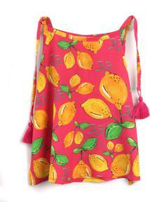 Blusa Fruteira 3 Menina Limão Rosa