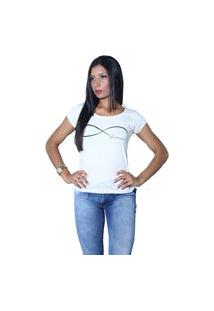 Camiseta Heide Ribeiro Forever Off White