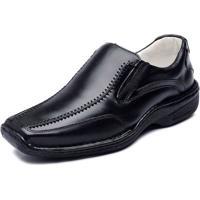 690c84c495 Dafiti. Sapato Casual Ranster Couro De Carneiro Confort Preto