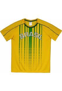 Camisa Brasil Juruá Infantil - Masculino