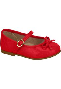 Sapato Infantil Molekinha Verniz Feminina - Feminino-Vermelho