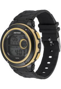 Relógio Digital Mormaii Mo8740Aa - Unissex - Preto/Amarelo