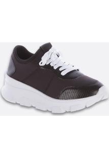 Tênis Feminino Chunky Sneaker Textura Zatz
