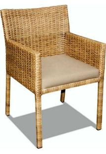 Cadeira Regata Junco Natural Estrutura Alumínio Eco Friendly Design Scaburi