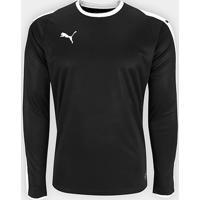 Camiseta Puma Liga Jersey Manga Longa Masculina - Masculino 9e2de81ee3e42