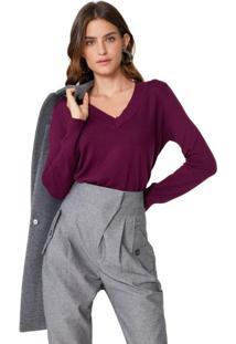 Suéter Oversize Decote V