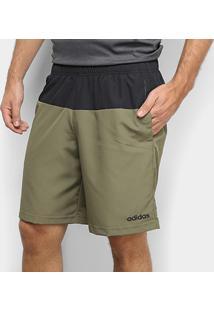 Short Adidas Rib Masculino - Masculino-Verde