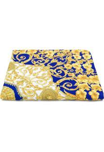 Young Versace Cobertor Barroco - Azul
