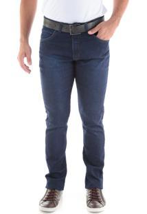 Calça 2234 Jeans Slim Traymon Marinho