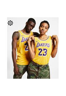 Regata Nike Los Angeles Lakers Swingman Icon Edition Unissex