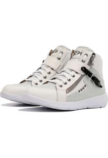 Sneaker K3 Fitness Up Branco