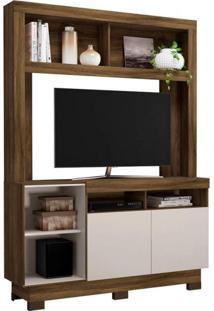 Estante Para Tv Até 46 Polegadas 2 Portas Âmbar Colibri Móveis