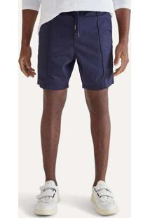 Bermuda Jogger Azul