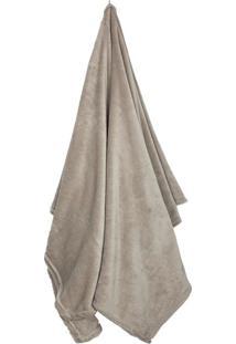 Cobertor Solteiro Loft Bege (150X220Cm)
