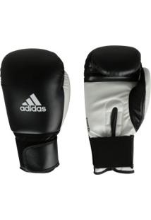 Luvas De Boxe Adidas Power 100 Smu Colors - 16 Oz - Adulto - Preto/Branco