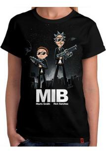 Camiseta Rick And Morty In Black