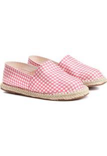 Sapatilha Infantil Shoestock Estampada Feminina - Feminino-Rosa