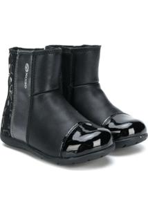Geox Kids Bota Slip On - Preto