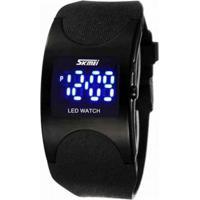 4ba3e25bb52 Relógio Digital Preto Vidro feminino