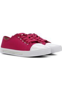 Sapato Infantil Molekinha Biqueira Verniz Feminino - Feminino-Pink