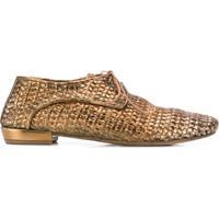 510a95464 Farfetch. Marsèll Sapato Oxford De Couro - Dourado