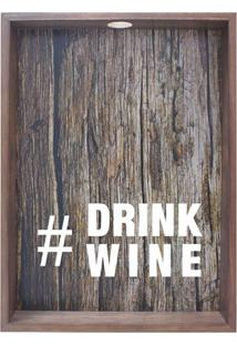 Quadro Porta Rolhas Drink Wine Madeira