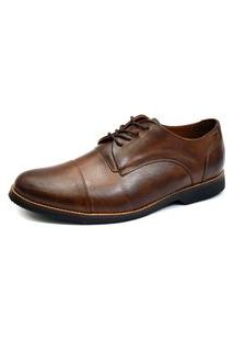 Sapato Social Oxford Shoes Grand Derbi Chocolate