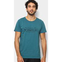 Camiseta Mizuno Athletic Div Masculina - Masculino-Verde+Preto 3e239959b980a