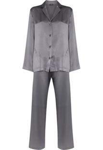 La Perla Calça Pantalona De Pijama - Cinza