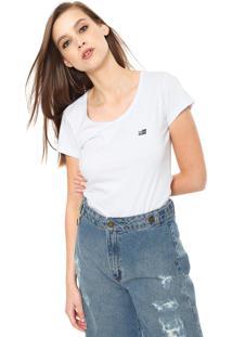 Camiseta Ellus 2Nd Floor Basic Branca