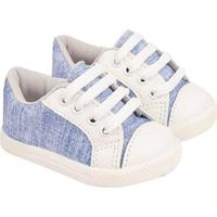 55240e8ac Tênis Bebê Soft Sonho De Criança Jeans Masculino - Masculino-Branco+Marinho