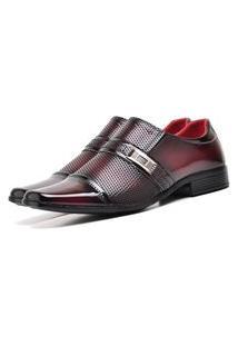 Sapato Social Elegant Com E Sem Verniz Dubuy 814La Vermelho